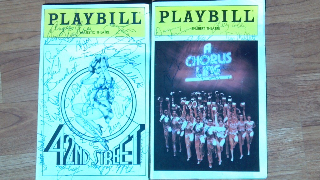 42nd Street playbill